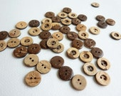 RESERVED FOR Ali Kester - Coconut shell buttons - 300pcs