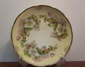 Vintage Flowered Prussia Salad Plate M1051