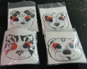 8 Animal Eyes For Stuffed Animals