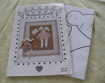 Bunnie & Wall-Quilt Sewing Pattern