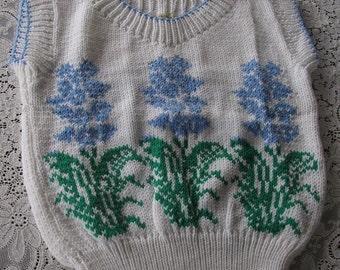 White Sweater Vest, V-Neck Vest, Back To School Vest