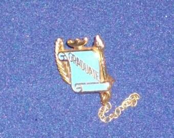 1950s Graduation Pin