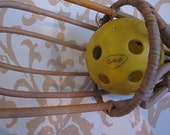 Vintage Scoop Ball Game, Wooden Catchers Includes BALL, Wall Decor