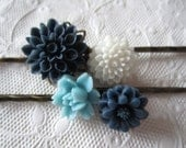 Ice Bloom - Hair Pins