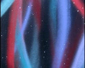 Welcome to Aurora - Original Painting on stretched canvas - 12 x 24