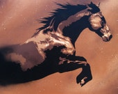 Horse Spirit - Original Painting on Stretched Canvas - 18 x 24