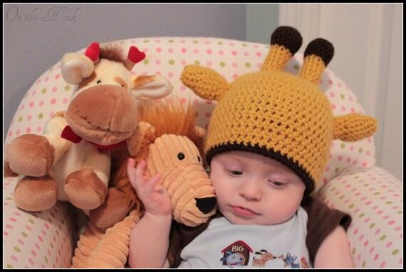 Giraffe Animal Hat