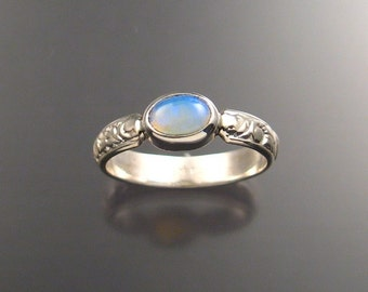 Opal Ring, Sterling, Any size
