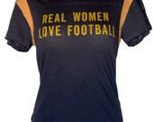 Real Women Love Football Tee