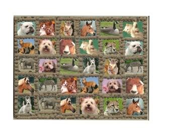 "8"" X 10""  30  Piece Animal Puzzle"