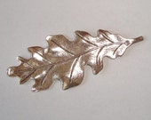 Oak Leaf Antique Silver - 1 Piece
