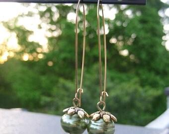 Spring Green Earrings