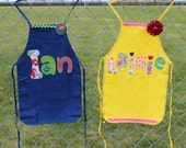Childrens PERSONALIZED APRONS