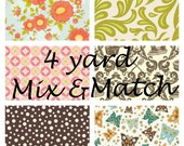 Any Four Yards of Quilting Cotton- Mix and Match