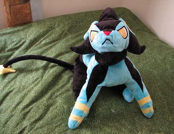 Pokemon Luxio Plush Toy Stuffed Animal