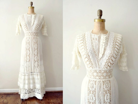 Items Similar To Vintage 1900s Dress