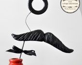Mustache and Monocle Photobooth Prop - The Inquisitor