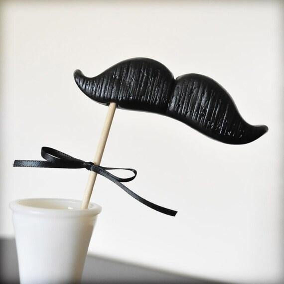 The Nostalgist Mustache on a Stick - Single