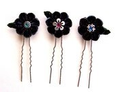 Subtleties kanzashi bun pins
