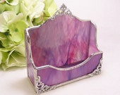 PurplePink Wispy Business Card Holder