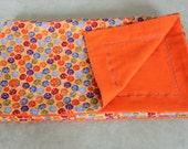 Bold Little Ladybugs Flannel Blanket