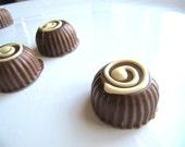 Peanut Butter Belgian Chocolate Truffle 4 Piece
