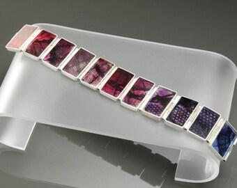 Resin Photo Hinge Bracelet