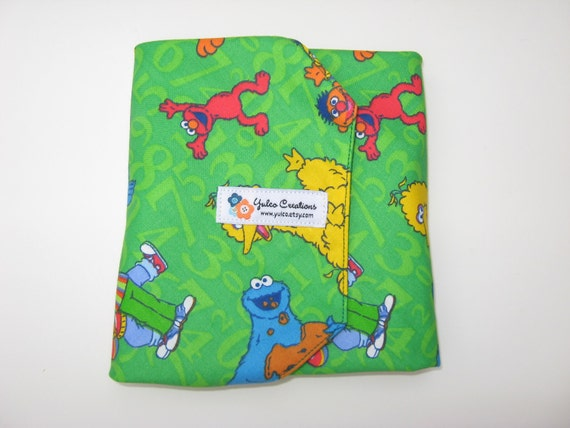 Reusable Sandwich Wrap and Placemat - Sesame Street