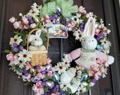Easter Holiday Wreath Sale Priced for ANY Budget ...Bunnies, Bunnies EVERYWHERE