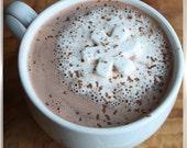 60 Snowflake Marshmallows for Hot Cocoa (gourmet marshmallows)