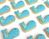 Preppy Whale Cookies (2 dozen Whale Cookies)