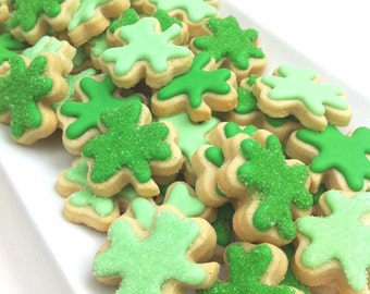 St. Patrick's Day Lucky Shamrock Cookies (1 pound)