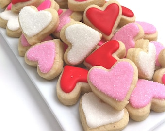 VALENTINE'S DAY Heart Cookies  (1 pound )