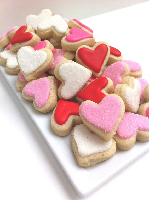 LOVE Heart Cookies (3 dozen small)