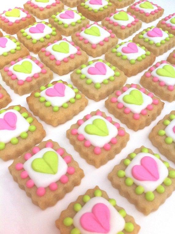VALENTINE'S DAY I Heart You LOVE Tiles (1/2 pound)