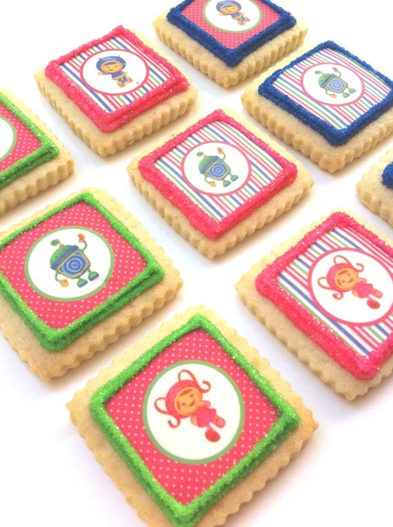 Team Umizoomi Cookies (1 dozen)