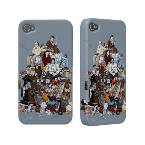 iPhone Case - Seinfeldology (99 Seinfeld References)