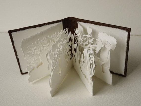 Rachel's Garden I - Miniature Artist Book