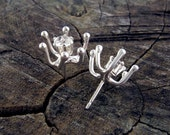 Anemone Posts/White Topaz