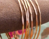 Twisted Rabbit Jewelry Co 14K Gold Bangle  (Small)