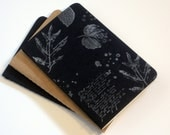 French Foliage Silver Notebook