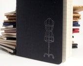 Dress Form Notebook (Moleskine)