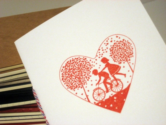 Bicycle Love Notebook