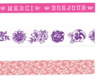 antique corsage -- pink