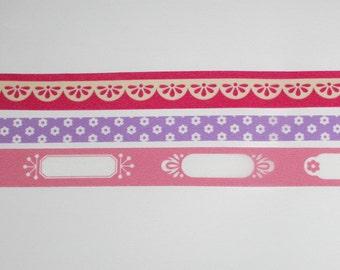 FOR SALE -- photo deco -- fushia pink set