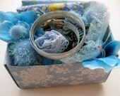 DIY light blues craft kit