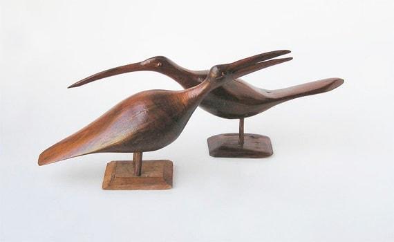Bird Folk Art Sculpture
