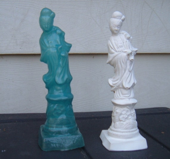 Mold for Making Plaster Kwan Yin Statue, Mold Only