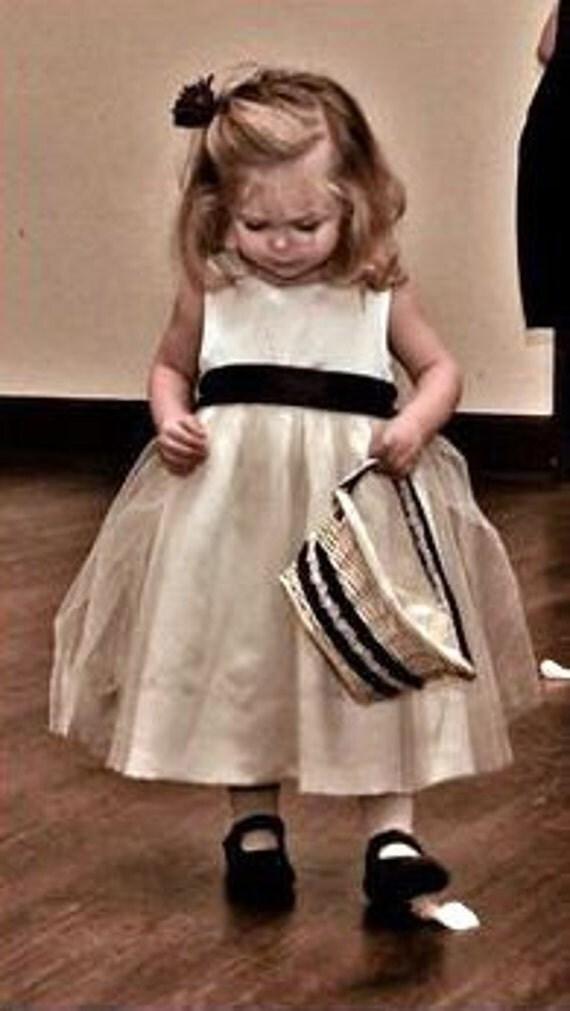 Ballerina Toddler Flower Girl Satin Dress
