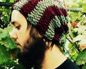 Iron and Wine Knitted Urban Slouch (Made to order 5-10 business days)